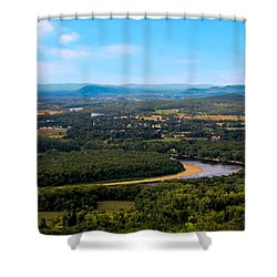 Summit House View Shower Curtain