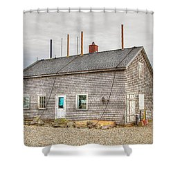 Summit Stage Office Shower Curtain