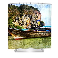 Sun And Sand Shower Curtain