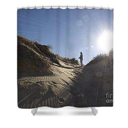 Shower Curtain featuring the photograph Sun And Sand  by Tara Lynn