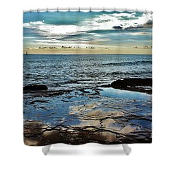 Shower Curtain featuring the photograph Sun And Sea by Craig Wood