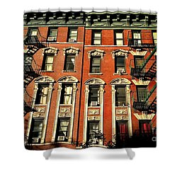 Sun And Shadow - The Rhythm Of New York Shower Curtain