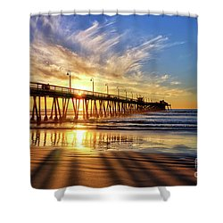 Sun And Shadows Shower Curtain