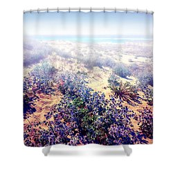 Sun And Wind Shower Curtain