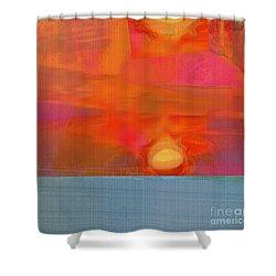 Sun Basket Shower Curtain