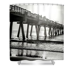 Shower Curtain featuring the photograph Sun Bathe by Eric Christopher Jackson