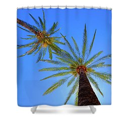 Sun Bed View Shower Curtain