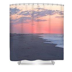 Sun Brightened Clouds Shower Curtain