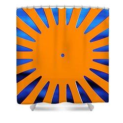 Sun Burst Shower Curtain
