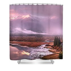 Shower Curtain featuring the photograph Sun Dance by John Poon