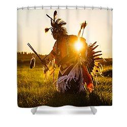 Sun Dance Shower Curtain