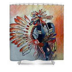 Sun Dancer Shower Curtain