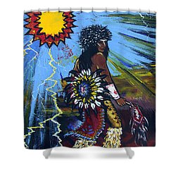 Sun Dancer Shower Curtain by Karon Melillo DeVega