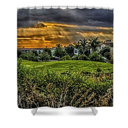 Sun Dome Shower Curtain