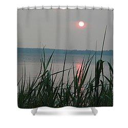 Sun Drop Shower Curtain