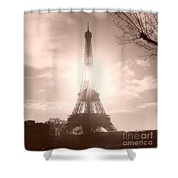 Sun In Paris Shower Curtain