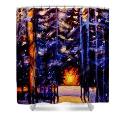 Sun Kiss..2 Shower Curtain by Cristina Mihailescu