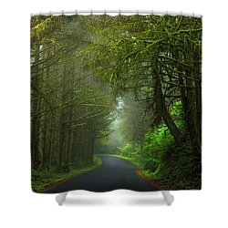 Sun-kissed Shower Curtain by Rick Furmanek