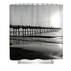 Sun Led Shower Curtain