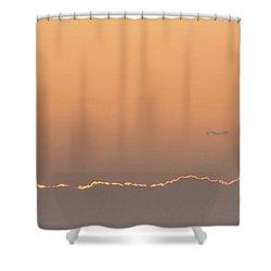 Sun N Clouds Shower Curtain by Nance Larson