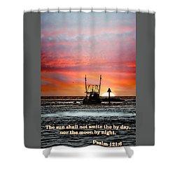 Sun Nor Moon Shower Curtain