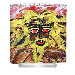 Sun Of Man Shower Curtain