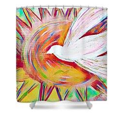 Healing Wings Shower Curtain