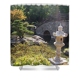 Sun Over Bonsai Shower Curtain