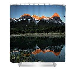 Sun Peaks Shower Curtain