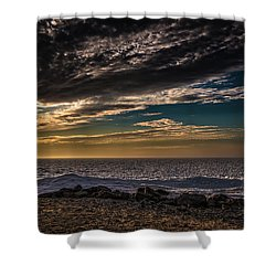 Shower Curtain featuring the photograph Sun Peeks Through by Onyonet  Photo Studios
