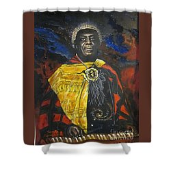 Sun-ra - Jazz Artist Shower Curtain