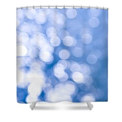 Sun Reflections On Water Shower Curtain