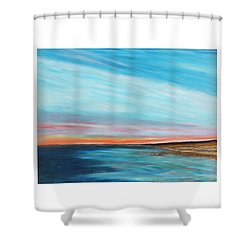 Sun Sliver Shower Curtain