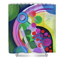 Sun Spots Shower Curtain
