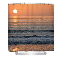 Sun Star Shower Curtain