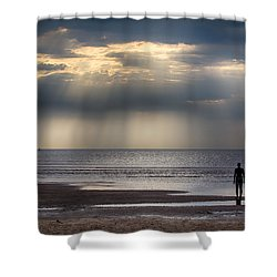 Sun Through The Clouds 2 5x7 Shower Curtain