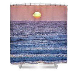 Sun To Sea Shower Curtain by Michele Penner