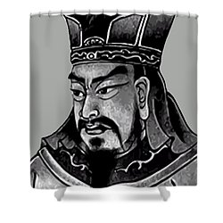 Sun Tzu Shower Curtain by War Is Hell Store