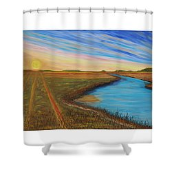 Sun Up Shower Curtain