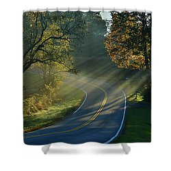 Sun-up On Conners Grove Shower Curtain