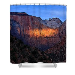 Sunbeam, Towers Of The Virgin, Zion Shower Curtain