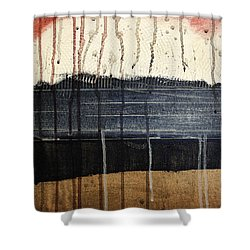 Sunburst Shower Curtain by Brian Drake - Printscapes