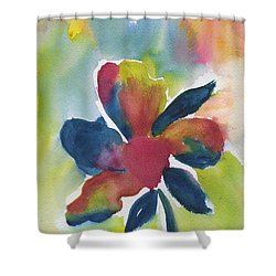 Shower Curtain featuring the painting Sunburst by Frank Bright