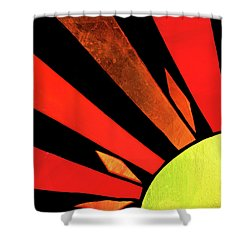 Shower Curtain featuring the photograph Sunburst by Kristin Elmquist