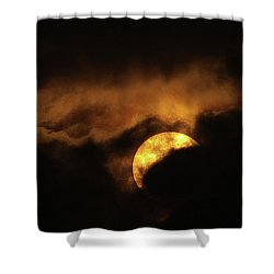 Sunclouds Shower Curtain