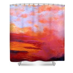 Sundance 2 Shower Curtain by M Diane Bonaparte