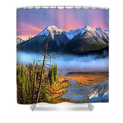 Shower Curtain featuring the photograph Sundance by John Poon