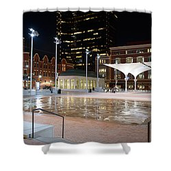 Sundance Square Fort Worth 3 Shower Curtain