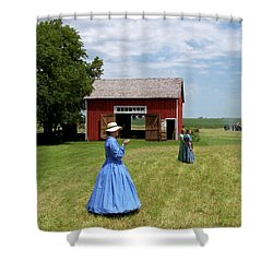 Sunday Afternoon At Chaplin Creek Shower Curtain