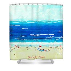 Sunday At Bondi Shower Curtain